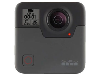 GoPro 运动相机 Fusion 全景相机 5.2K 机身防水 智能高清全方位自拍神器