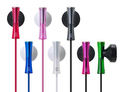 铁三角 ATH-J100 时尚可爱入耳式耳机通用耳塞