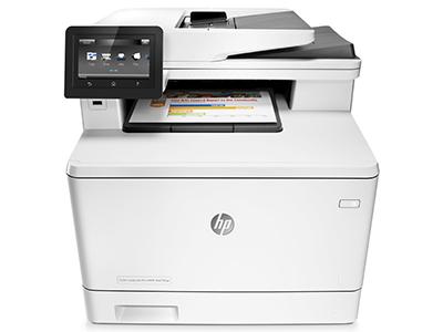 惠普 HP477FNW A4彩色激光多功能打印机一体机
