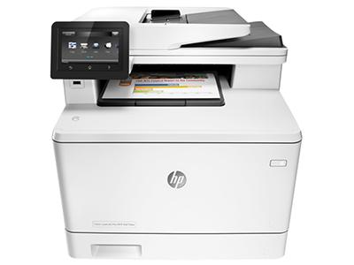 惠普 477FDW A4 彩色激光一体机复印扫描传真打印