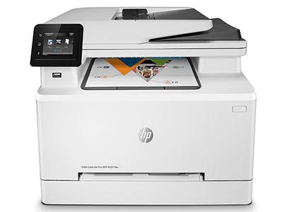 惠普 HP281FDW 色激光多功能打印机一体机 A4四合一