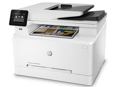 惠普 281FDN 彩色激光打印机A4复印扫描传真一体机自动双面打印