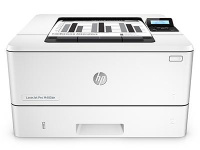 惠普 403DN 黑白激光打印机 自动双面打印