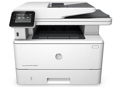 惠普 427FDN A4黑白激光打印机一体机打印复印扫描多功能