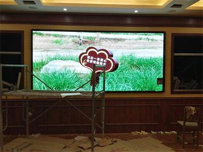 p2.5室內全彩led顯示屏4平方(汝州市)