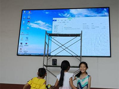 p4室內全彩led顯示屏18.5平方(平頂山市)