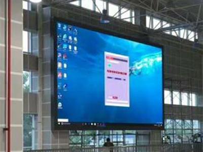 p3室內全彩led顯示屏70平方(三門峽)