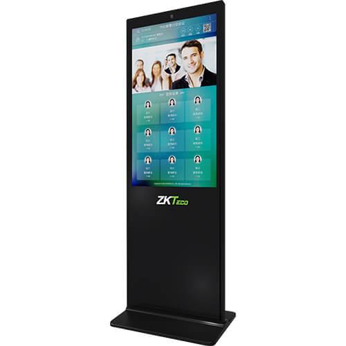 郑州中控智慧ZK-S1050大屏动态人脸识别系统 会议签到系统43寸全彩屏,可考勤 门禁 会议签到,接入一卡通管理平台
