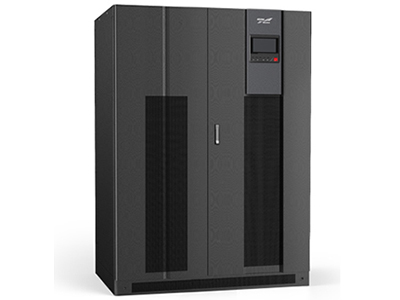 科华  精卫电源 YTR系列三进三出UPS(300-600kVA) KELONG® 高频IGBT 整流机型采用三电平双变换在线技术、IGBT和数字信号处理器(DSP),YTR(/B)33 系列可确保为任何数据处理或工业领域的负载提供高质量的电源保障,尤其适用于保护重大关键负载,VFI SS 11(电压,频率独立)符合IEC EN 62040-3。300kVA 及以上产品还可兼容隔离变压器,使输出和输入完全电气隔离。