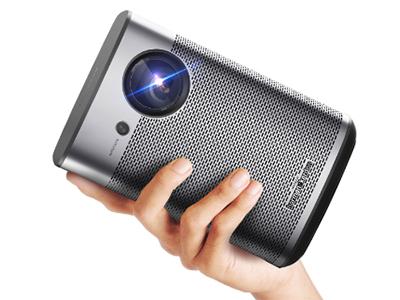 极米PLAY X 1080P物理分辨率 / 内置电池 / 运动补偿+HDR