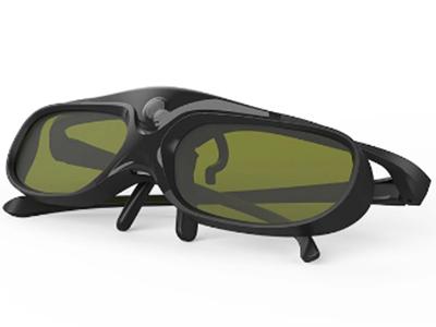 主动快门式3D眼镜 60h长续航/激光电视、长焦机通用/秒变夹片式眼镜 适用近视人群