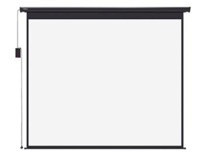 极米120英寸16:10遥控幕布 电动静音调控,收放自如。