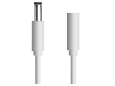 极米DC电源延长线 可解决无屏电视因移动、摆放、壁挂、吊架时的布线不足问题,配合随机附线使用,可有效延长至1.2M。
