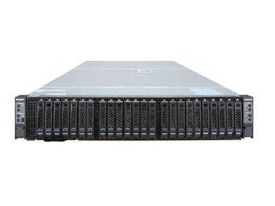 浪潮 英信i24 高密度服务器  NS5162M5 2.5*24NVME盘位*1|I24 2000W电源模块*2|I24SUV转接线*1|导轨-I24*1|