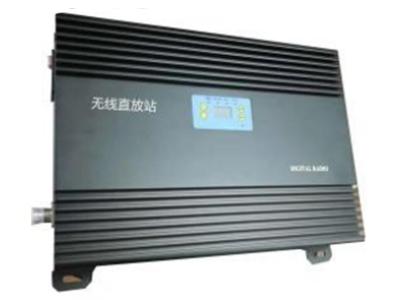 无线直放站  采用先进的声表面滤波技术,带外抑制收发隔离度高。  整铝腔体分隔屏蔽设计,抗干扰能力强,杂散小。  采用进口低噪声器件,整机 NF 系数小,接收微小信号 能力强。  加入 ALC 技术,抗过载能力强。  先进的温控静音散热技术,机器运行后无噪声污染。  更先进的数控增益调整,调整步进为 0.5dB  具备极端温度自降功率设计,保护射频功放运行安全  整机 MC