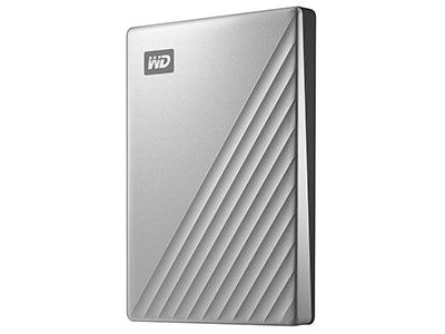 西部数据(WD)1TB 2T 4T My Passport Ultra金属版2.5英寸 Type-C移动硬盘