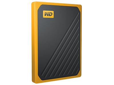 西部数据(WD)500GB 1T My Passport Go琥珀色USB3.0移动硬盘