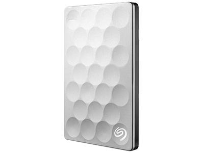 希捷(Seagate)睿致 Ultra slim 1TB 2TB USB3.0 2.5英寸移动硬盘 银