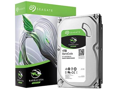 希捷(Seagate)1TB 64MB 7200RPM 台式机机械硬盘 SATA接口