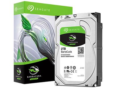 希捷(Seagate)2TB 256MB 5400RPM 台式机机械硬盘 SATA接口