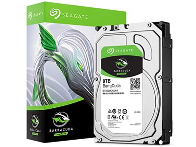 希捷(Seagate)8TB 256MB 5400RPM 台式机机械硬盘 SATA接口