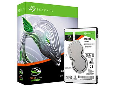 希捷(Seagate)500GB 128MB 5400RPM 2.5英寸笔记本硬盘 SATA接口 希捷酷玩FireCuda系列(ST500LX025)
