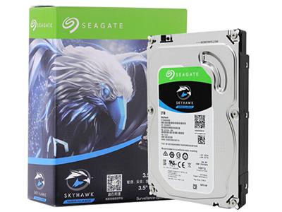 希捷(Seagate)2TB 64MB 5900RPM 监控级硬盘 SATA接口 希捷酷鹰SkyHawk系列(ST2000VX008)