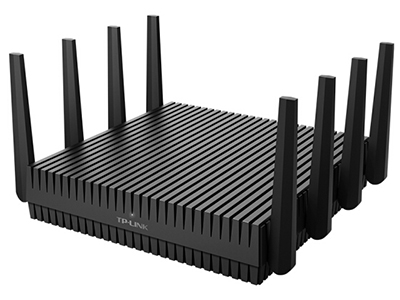TP-LINK TL-WTR9520  路由器 三频 2.4G 1000M + 5G-1 2167M + 5G-4 2167M  外置8天线  MU-MIMO+波束成形  千兆有线口  2个USB  Turbo信号增强覆盖