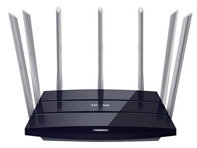 TP-LINK TL-WDR8400  路由器 AC2200M,5G 1733M + 2.4G 450M,7根5DBi外置天线,百兆有线口