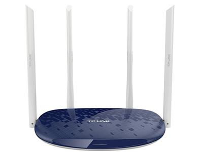 TP-LINK TL-WDR5610 路由器 11AC 5G 866M  +  2.4G 300M,4根5DBi外置天线,1个百兆WAN口,3个百兆LAN口