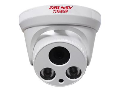 大邦联视 DB-IPC342HSN-30 摄像机 采用三百万像素高清镜头,使用海思处理器;支持ONVIF协议,支持云服务功能