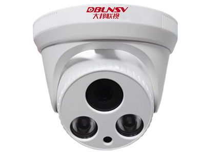 大邦联视 DB-IPC342HSNP-30 摄像机红外双灯/POE/内置音频 采用三百万像素高清镜头,使用海思处理器;支持ONVIF协议,支持云服务功能。