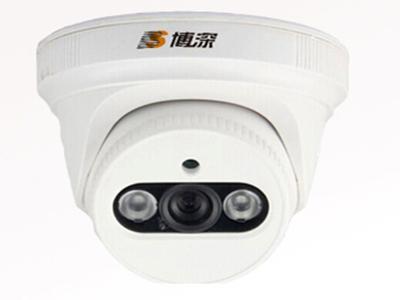 博深 BS-IP403HTE-20 200万摄像机 双颗大功率点阵式红外灯 红外距离15-40米 H.265+编码格式