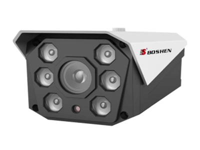 博深 BS-IP986HTE-50 500万红外摄像机 六颗大功率点阵式红外灯或暖光灯 红外距离15-120米 H.265+编码格式