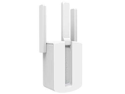 TP-LINK TL-WA933RE 无线扩展器 450M,插墙设计,完美兼容所有路由器,二维码3步设置完成/智能指示灯,外置三天线