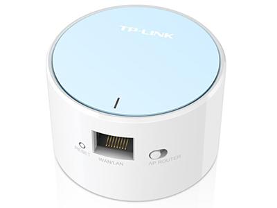 TP-LINK TL-WR706N 内置电源,插墙式,插头可收,新型圆柱体外观,全球最小