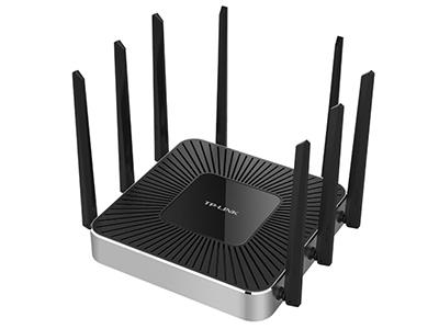 TP-LINK TL-WVR2603L 企业级路由器 2.4G 800M+5G1 867M+5G2 867M,四核,千兆端口,1个WAN+1个LAN+3可变口,1USB口