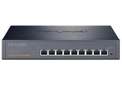 TP-LINK TL-R479G+   企业VPN路由器 千兆,1WAN+5LAN+3可变口,VPN+上网行为管理+上网审计+PPPOE服务器,可管理20台AP,微信连Wi-Fi