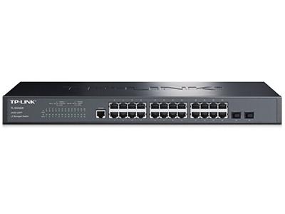 TP-LINK  TL-SG3226  全千兆二层网管 24千兆口+2个千兆SFP,全千兆二层网管交换机