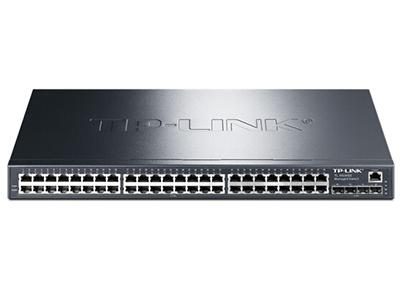 TP-LINK  TL-SG3452  全千兆二层网管 48千兆口+4个千兆SFP,全千兆二层网管交换机