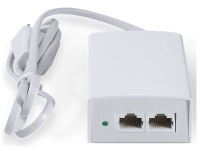 TP-LINK  TL-POE210S POE供电器 双口POE供电器:单口输出最大30W,双口输出最大33.6W,,最远100m