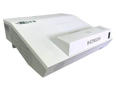 日立 HCP-A833+ 投影机 3000流明 1024*768分辨率 16000:1对比度 全密闭反射式短焦、电动聚焦1.35倍数码变焦、边角校正,水平和垂直梯形校正