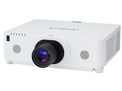日立 HCP-D867W 投影机 6500流明 1280*800分辨率 10000:1对比度 路DP接口、2.0倍电动变焦镜头、镜头位置记忆功能、支持HML、产品内置八点图像校正和变形