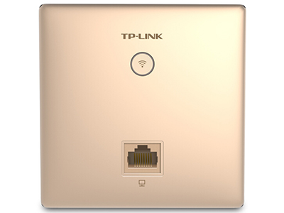 TP-LINK   TL-AP302I-POE 香槟金   面板AP 带机量20,标准POE,1 RJ45网口,香槟金