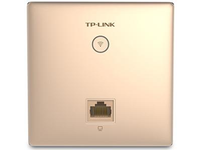 TP-LINK  TL-AP450I-POE 香槟金   面板AP 带机量30,标准POE,1 RJ45网口,香槟金