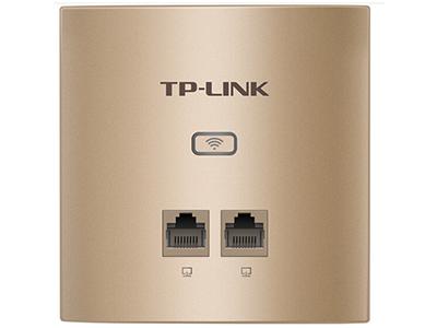 TP-LINK  TL-AP456GI-POE薄款(方)   面板AP 带机量30,标准POE,2 RJ45网口,可VLAN,薄款