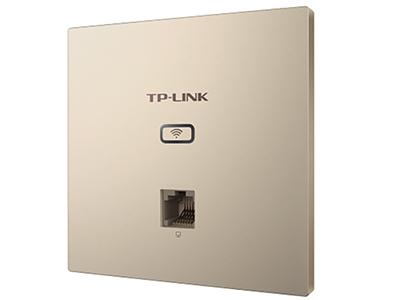 TP-LINK  TL-AP1202I-POE薄款(方)   面板AP  带机量50,标准POE,双频,1 RJ45网口,可VLAN