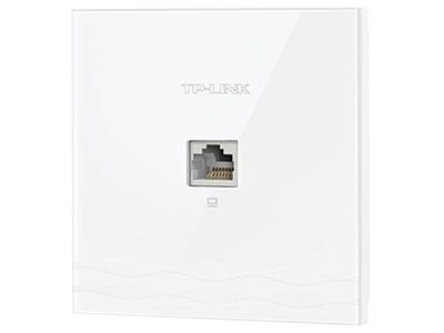 TP-LINK  TL-AP1205I-POE 皓月白   面板AP 带机量50,标准POE,双频,1 RJ45网口,可VLAN,皓月白