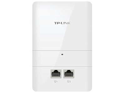 TP-LINK  TL-AP1205I-POE   面板AP 带机量50,标准POE,双频,2 RJ45网口,可VLAN,端口全千兆