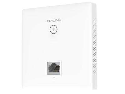 TP-LINK  TL-AP1202GI-POE   面板AP 带机量50,标准POE,双频,1 RJ45网口,可VLAN,端口全千兆